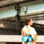日本橋でポートレート撮影にご協力いただいたひろみさん