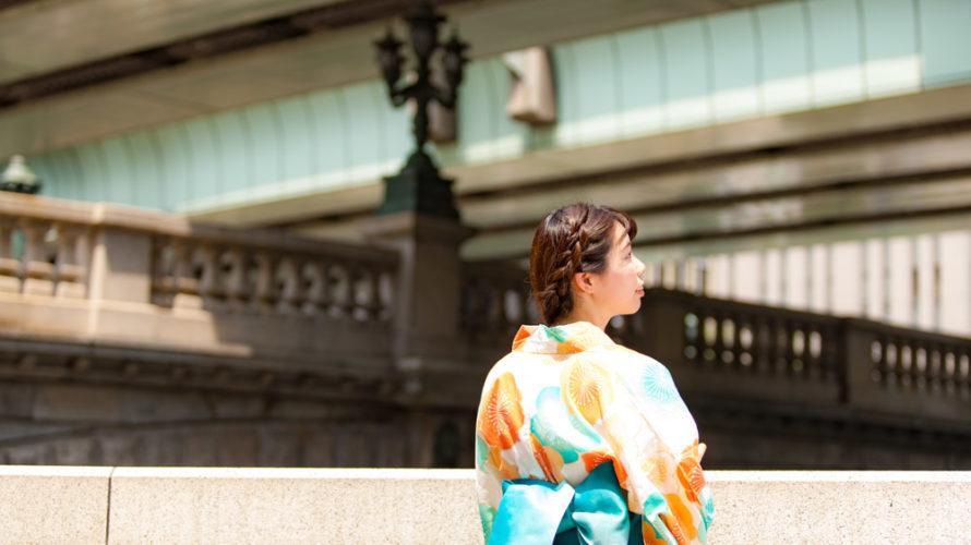 日本橋でポートレート撮影に協力いただいたひろみさん #002