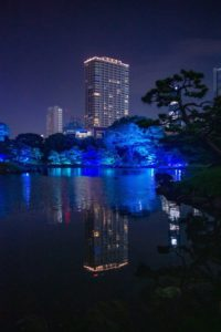 旧芝離宮恩賜庭園の江戸夏夜会