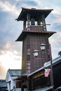川越市の時の鐘