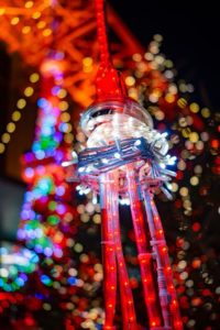 東京タワーウィンターファンタジー オレンジイルミネーション2019