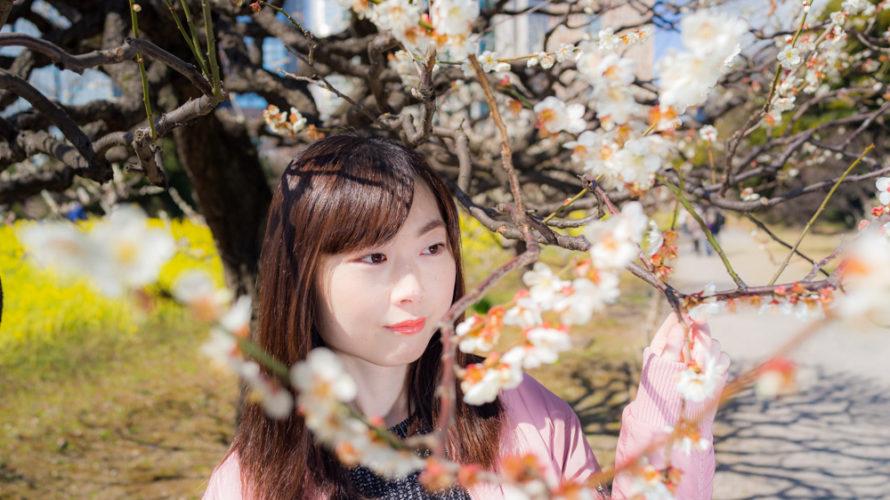 浜離宮恩賜庭園でポートレート撮影にご協力いただいた亜由香さん#021
