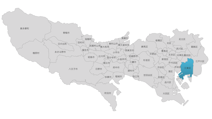 東京都江東区のポートレート撮影スポットのヒント
