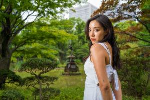 日比谷公園でポートレート撮影にご協力いただいたManaさん#025
