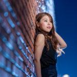 豊洲で夜間ポートレート撮影にご協力いただいたS Yさん#026