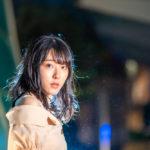 六本木けやき坂通り付近で夜景ポートレート撮影にご協力いただいた美空さん#027