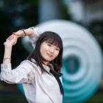 和田倉噴水公園付近でポートレート撮影にご協力いただいたAKARIさん#029