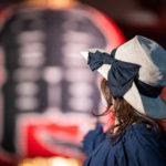 浅草寺でポートレート写真撮影した作例