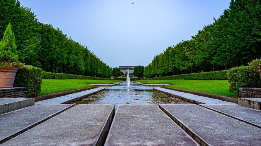 国営昭和記念公園でポートレート写真撮影した作例