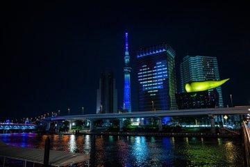 東京スカイツリーでポートレート写真撮影した作例