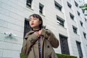 有楽町付近でポートレート撮影にご協力いただいたayaさん#030