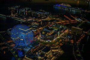 横浜ランドマークタワー69 階展望フロア「スカイガーデン」