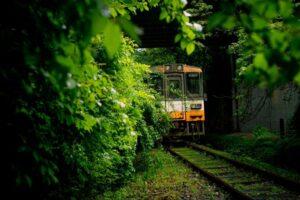 廃電車(のと鉄道能登線)